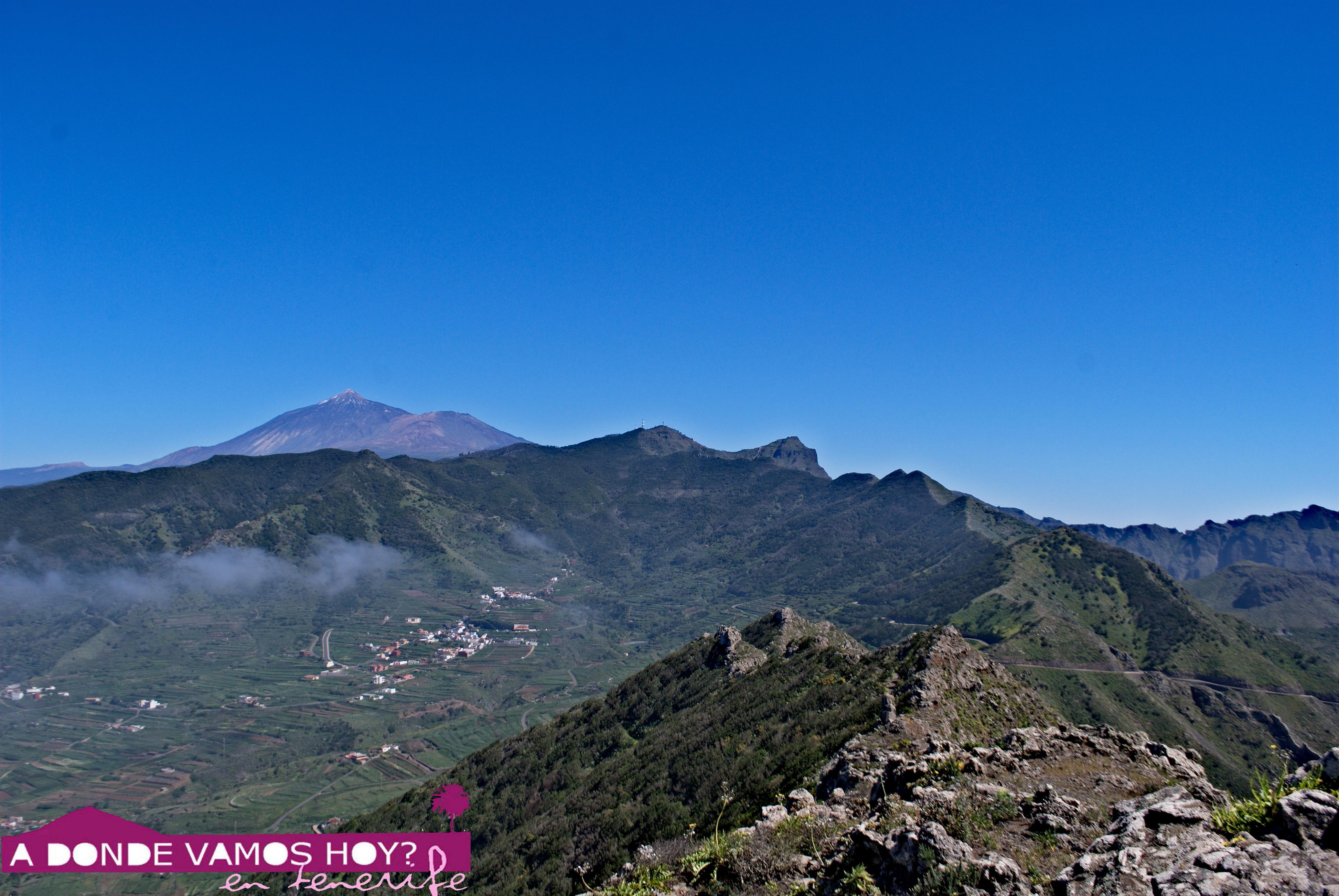 Sendero Erjos – Bolico – Pico Baracán – Teno Alto – Punta de Teno