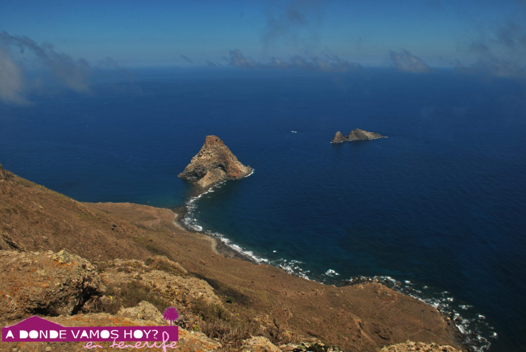 Vistas de Los Roques de Anaga desde Tafada
