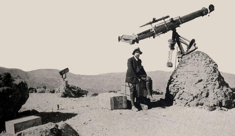 Observación en e Alto de Guajara, 1910.