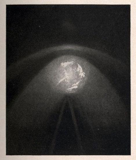 Cometa Halley fotografiado desde el Alto de Guajara