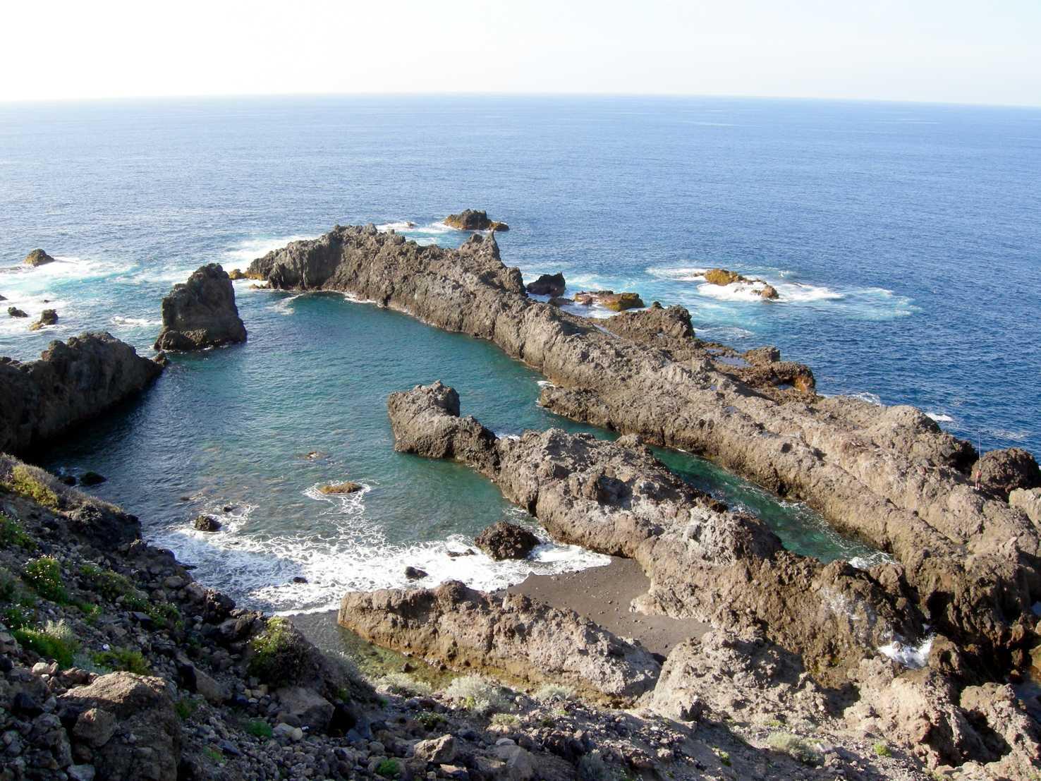Las 10 mejores piscinas naturales de tenerife a d nde for Charcos naturales en tenerife