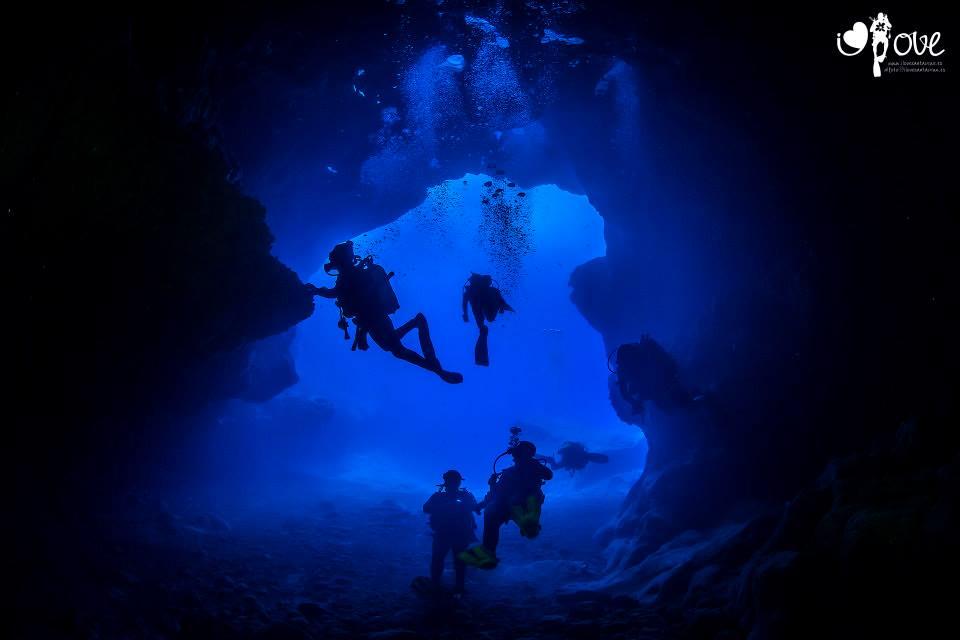Cueva de los Cerebros. (Fotografía: www.ilovesantacruz.es)