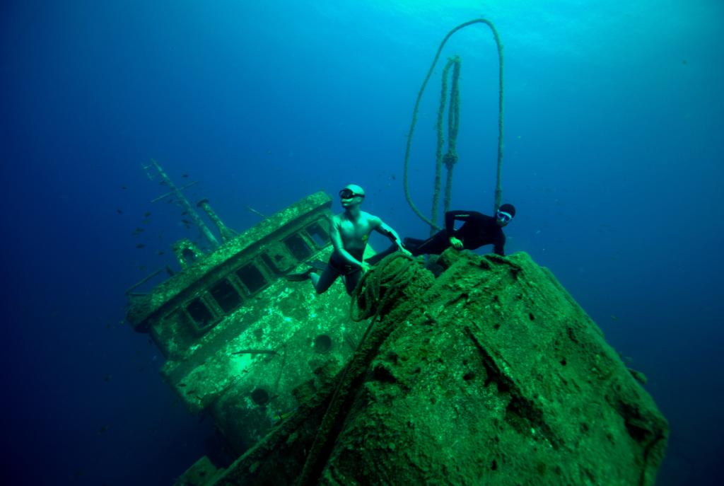 Pecio de Tabaiba. Fotografía: www.freediving.es